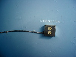 How do you plug in to your creative outlet?